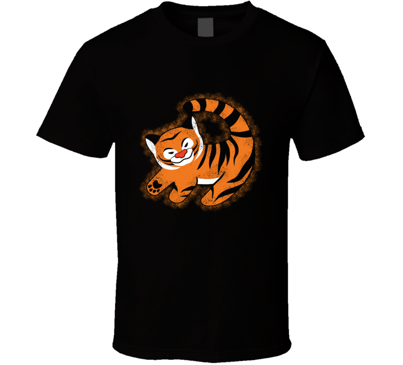The Tiger King Lion, King, Tiger, Cute, Cartoon, Rajah T Shirt