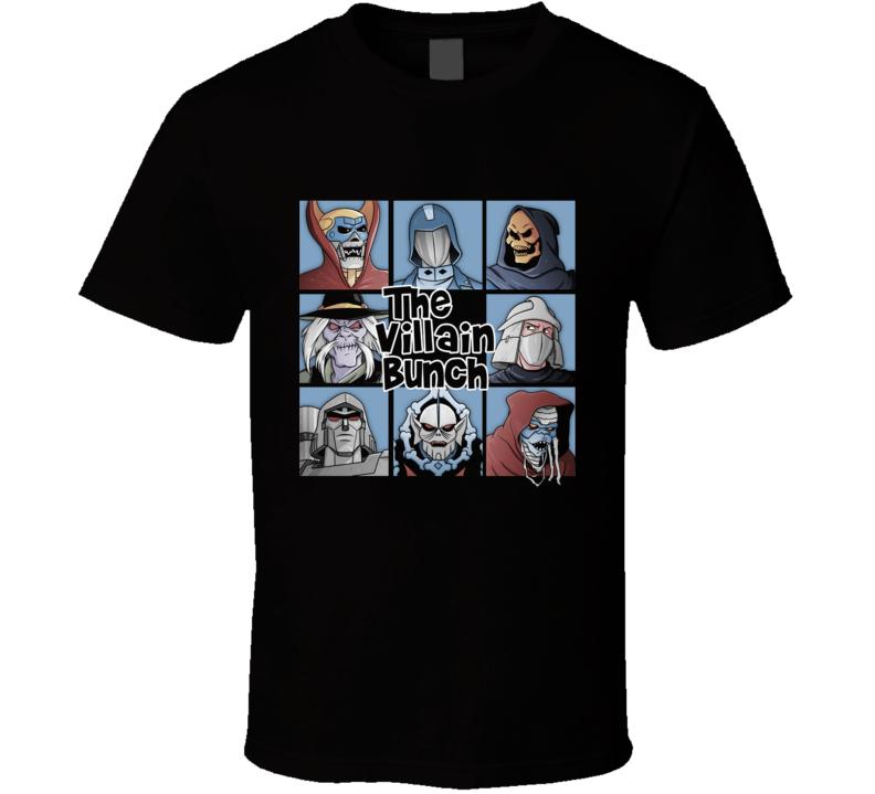 The Villain Bunch T Shirt