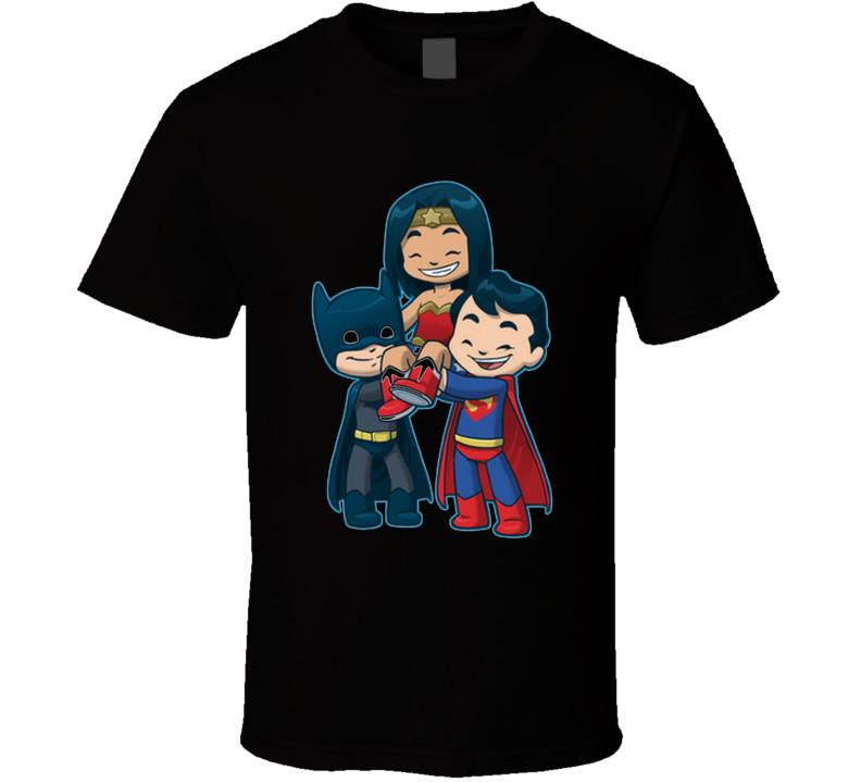 Wonder Friends Strong Girls, Kids, Cute, Comics, Super Hero T Shirt