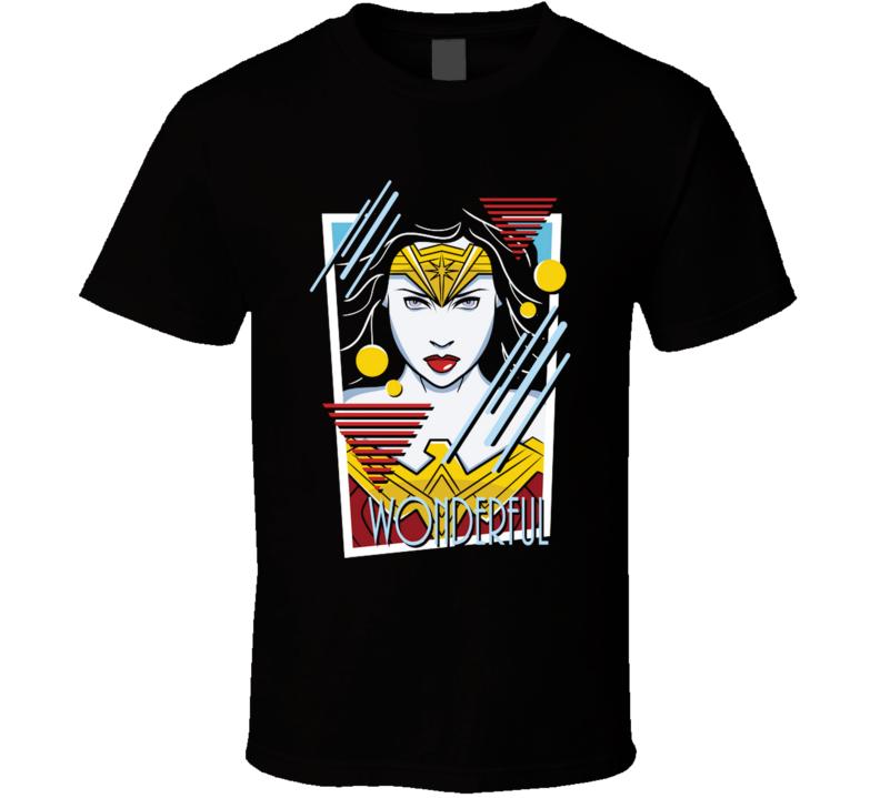 Wonderful  Comicbook, Superhero, Woman, Wonder, Patrick Nagel T Shirt