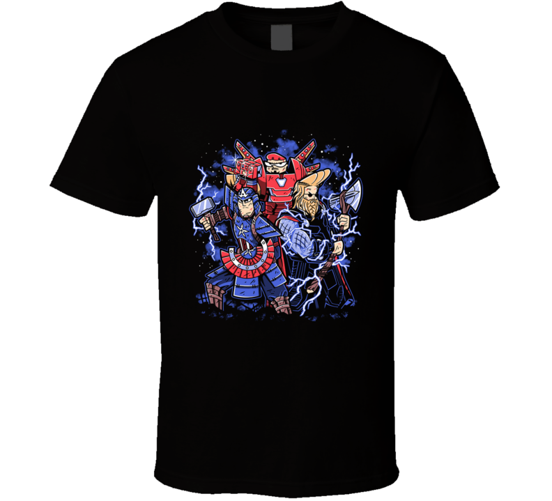 Toonvengers Trinity Cartoon, Samurai, Superhero, Comics, Viking, Genius, Childhood, 90s T Shirt