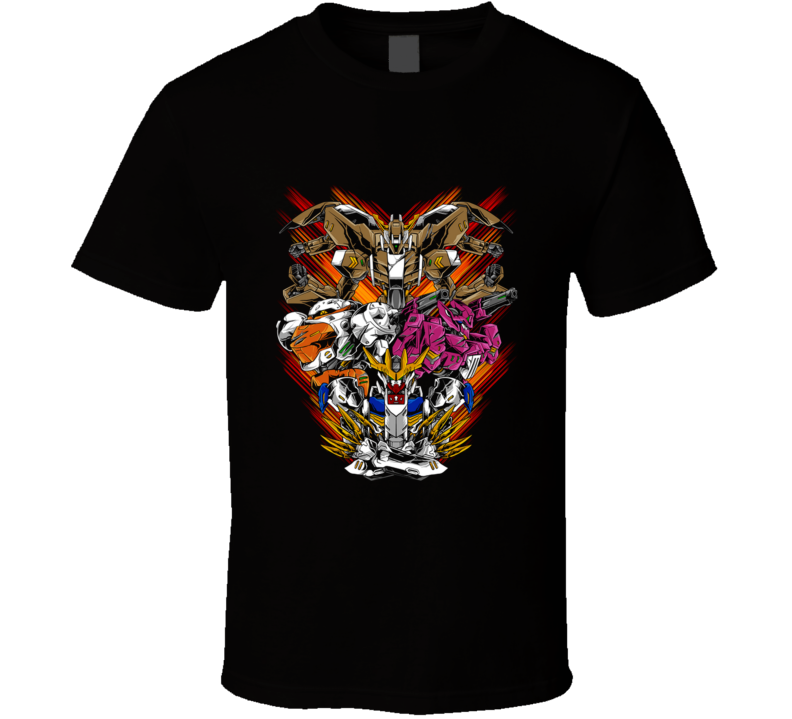 The Police Gundam, Manga, Cartoon, Robot, Mobile Suit, Barbatos, Tekkadan, Heroes T Shirt