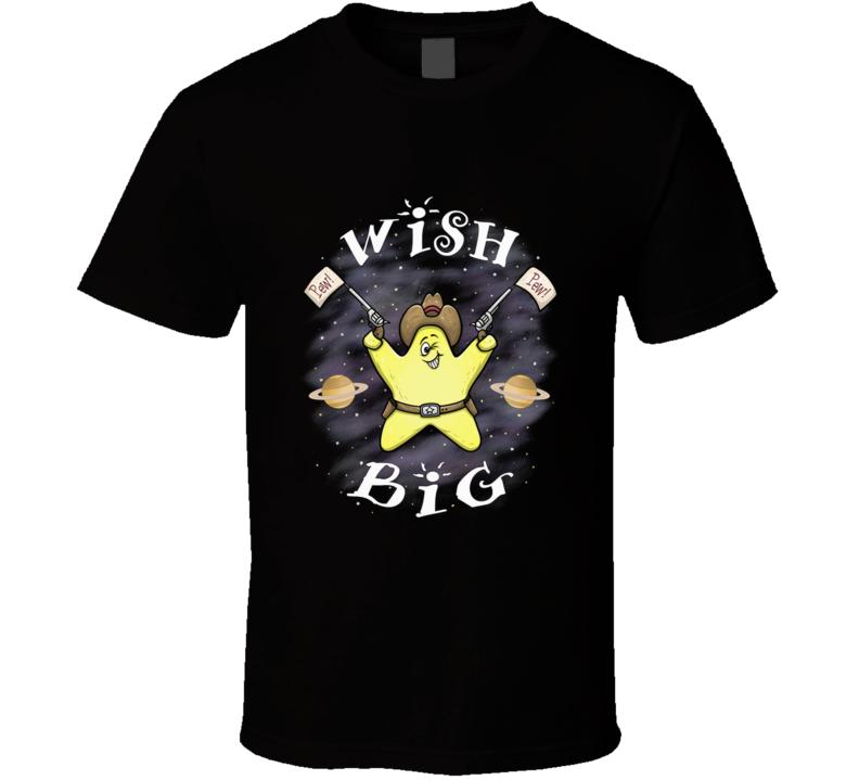 Wish Big Shooting Star Silly, Star, Cartoon, Shooting Star, Wish Upon A Star, Planets, Guns T Shirt