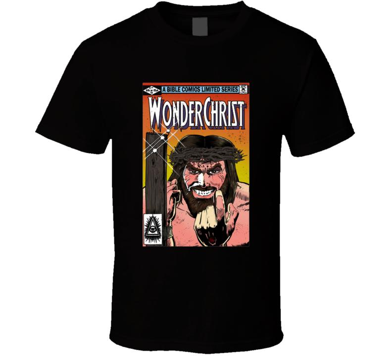 Wonderchrist Jesus, Religion, Frank Miller, Comic, Revenge T Shirt