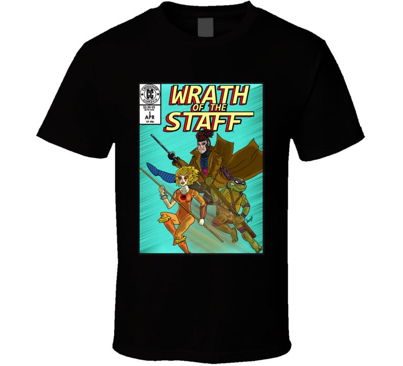 Wrath Of The Staff Issue2 T Shirt