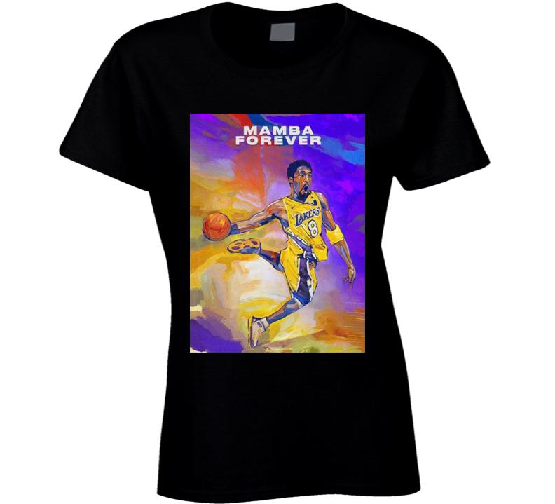 Kobe Bryant Mamba Forever 2k21 Ladies T Shirt