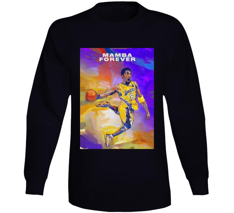 Kobe Bryant Mamba Forever 2k21 Long Sleeve
