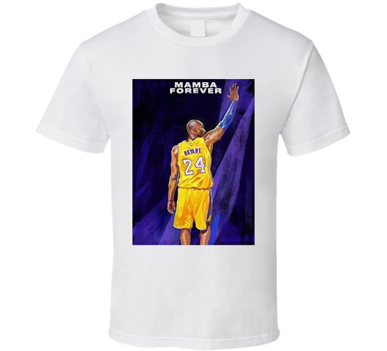 2k21 Kobe Bryant Mamba Forever Copy T Shirt
