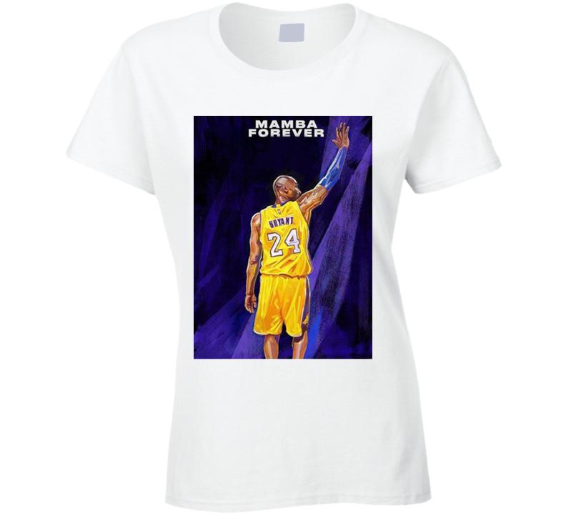 2k21 Kobe Bryant Mamba Forever Copy Ladies T Shirt