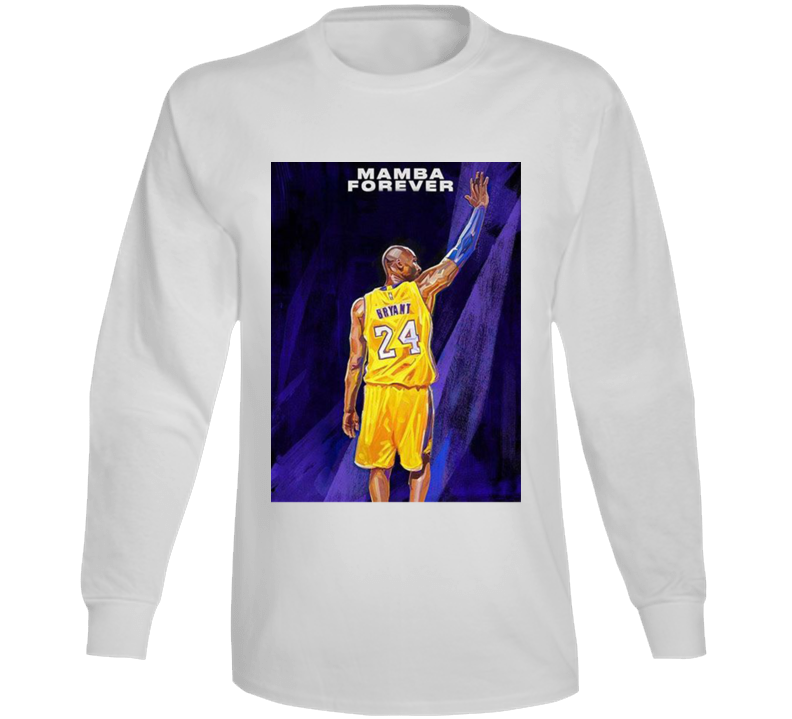 2k21 Kobe Bryant Mamba Forever Copy Long Sleeve