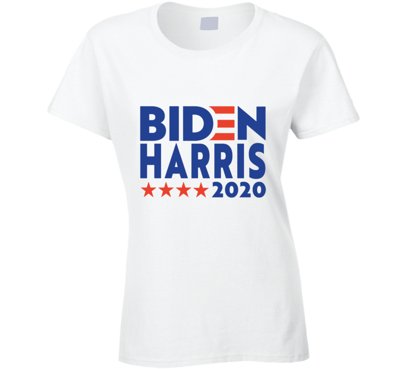 Biden Harris 2020 Ladies T Shirt