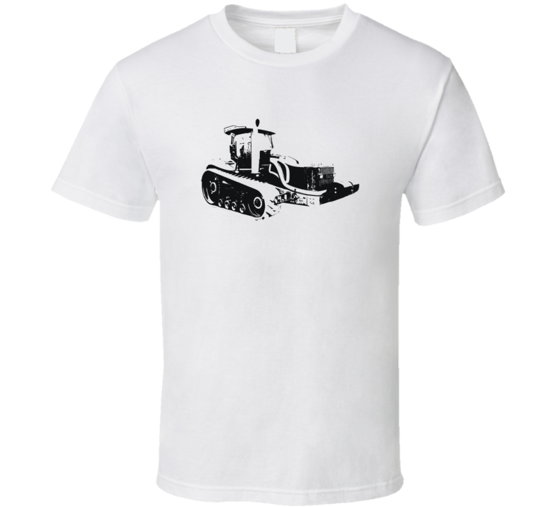 MT855C Tractor Side View Light Color T Shirt