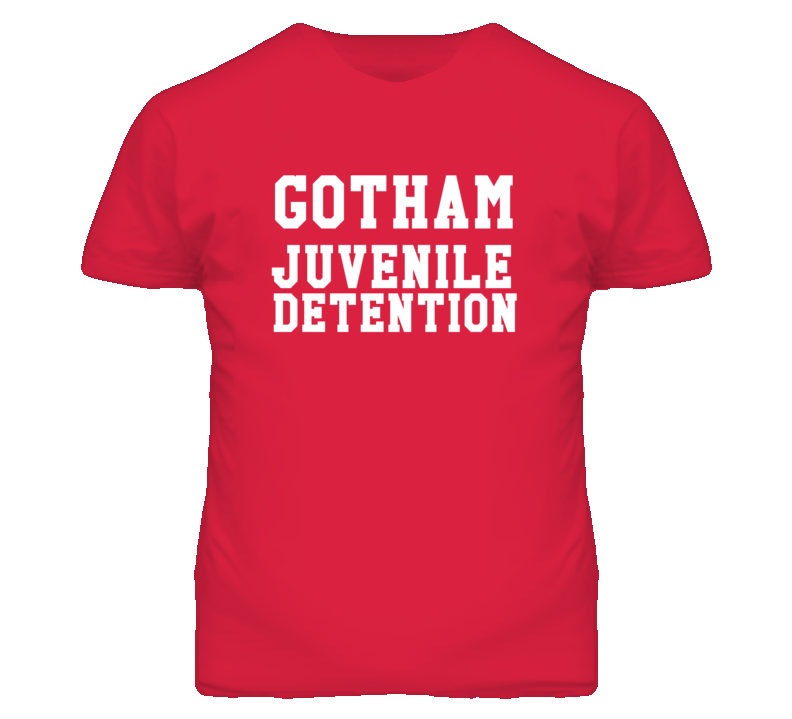 Gotham Juvenile Detention Dark T Shirt