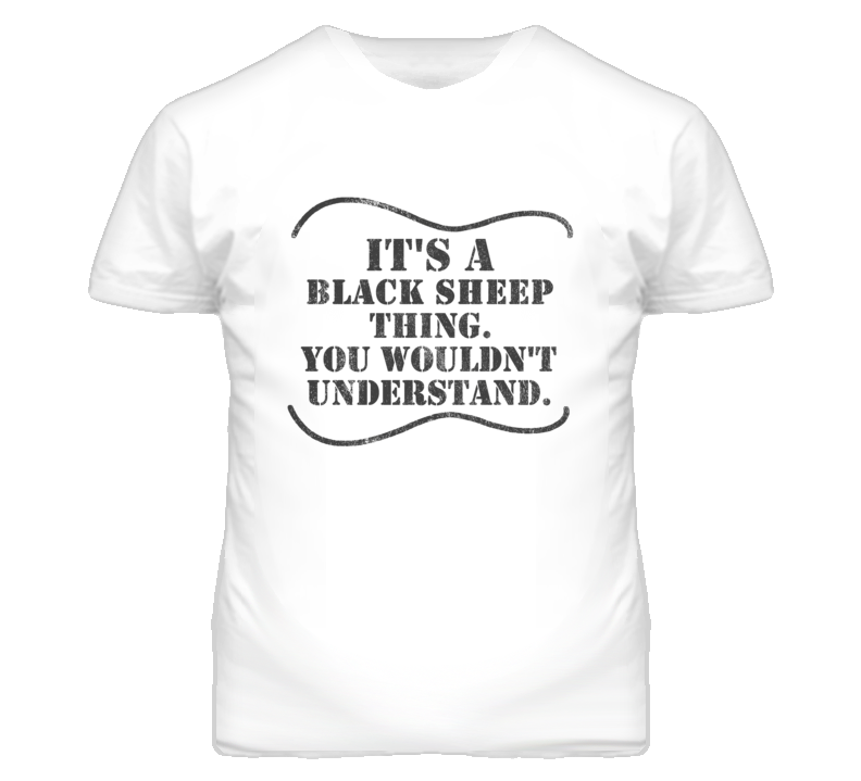 It'S A Kramer Black Sheep Thing Distressed Look Guitar Player T Shirt