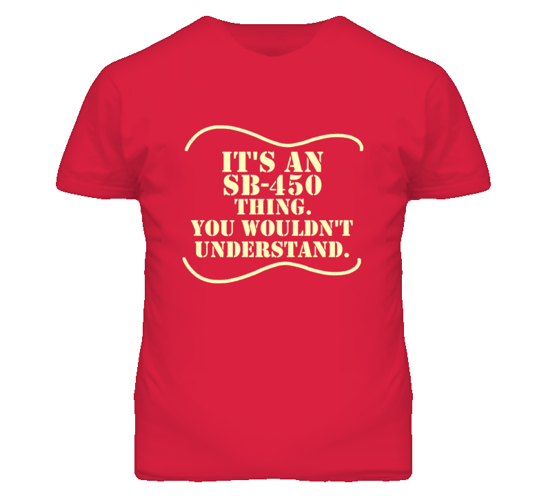 Its A Gibson Sb-450 Thing You Wouldnt Understand Funny Guitarist T Shirt