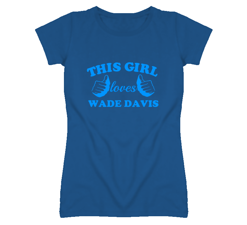 This Girl Loves Wade Davis Kansas Baseball T Shirt