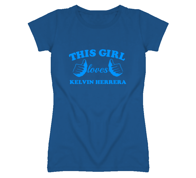 This Girl Loves Kelvin Herrera Kansas Baseball T Shirt