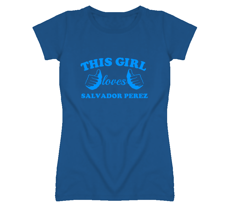 This Girl Loves Salvador Perez Kansas Baseball T Shirt