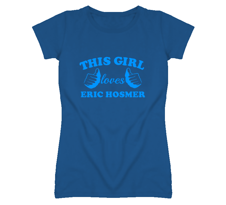 This Girl Loves Eric Hosmer Kansas Baseball T Shirt