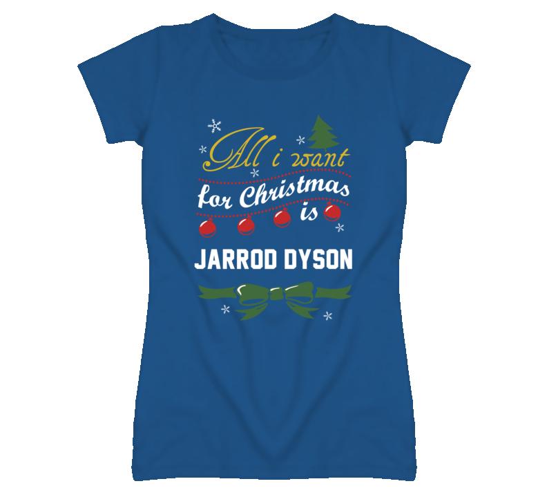 All I Want for Christmas Is Jarrod Dyson Funny Kansas Baseball T Shirt