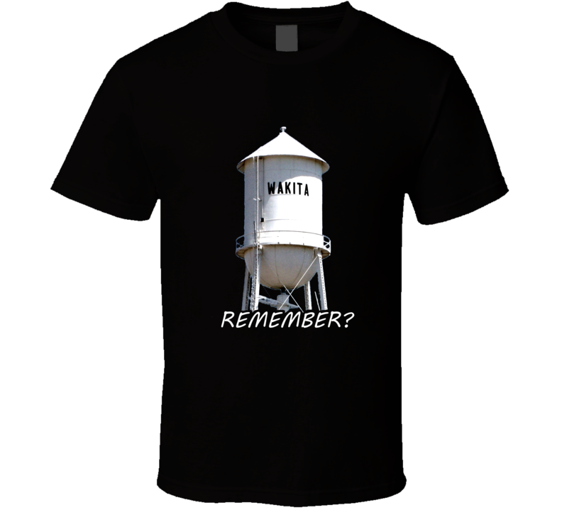Wakita Water Tower Twister Movie Remember T Shirt