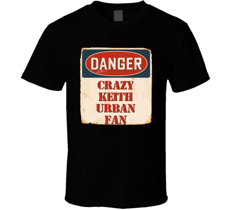 Crazy Keith Urban Fan Music Artist Vintage Sign T Shirt