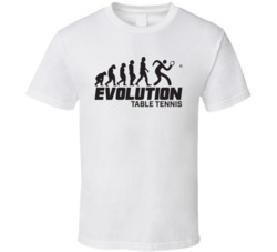 Table Tennis Evolution Rio 2016 Summer Olympic Games Sports Fan T Shirt