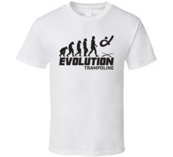 Trampoline Evolution Rio 2016 Summer Olympic Games Sports Fan T Shirt