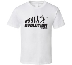 Tennis Evolution Rio 2016 Summer Olympic Games Sports Fan T Shirt