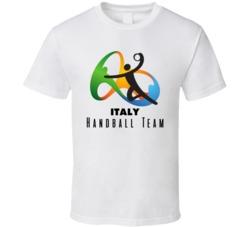 Italy Handball Team Rio 2016 Olympic Event Logo T Shirt