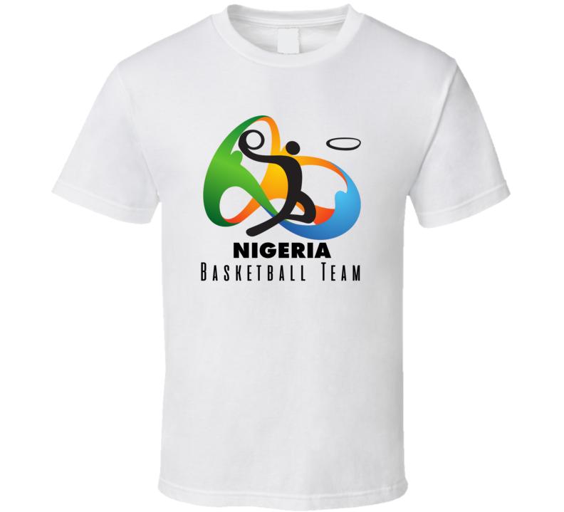 Nigeria Basketball Team Rio 2016 Olympic Event Logo T Shirt