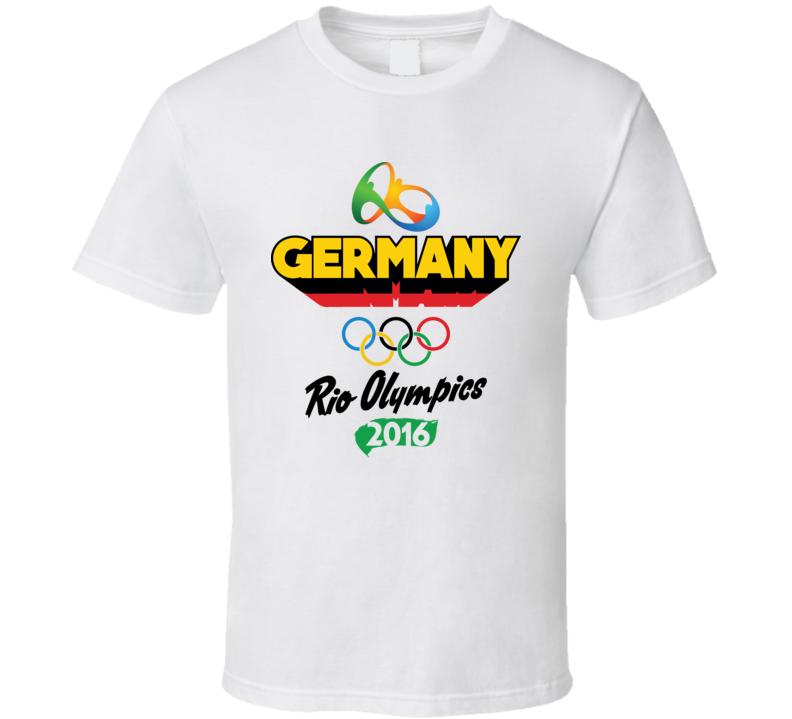 Germany Rio 2016 Summer Olympic Games Sports Fan T Shirt