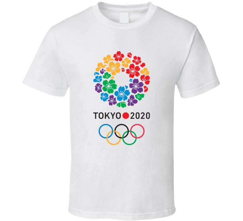 Tokyo Summer 2020 Olympics Logo World Olympiad Event T Shirt