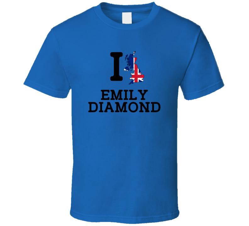 I Love Emily Diamond Great Britain Track 4 X 400 M Relay Olympics T Shirt