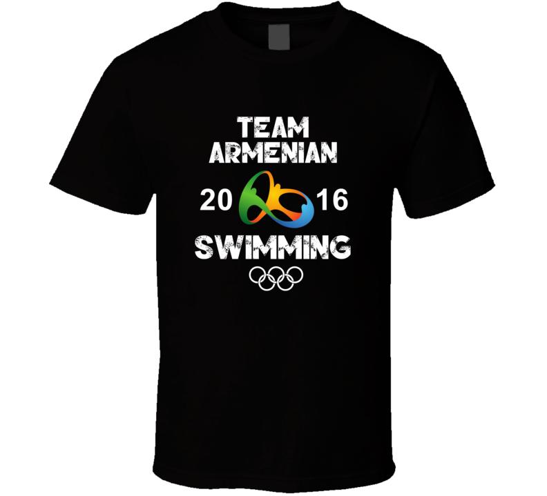 Armenian Swimming Team Rio 2016 Olympic Games Sport T Shirt