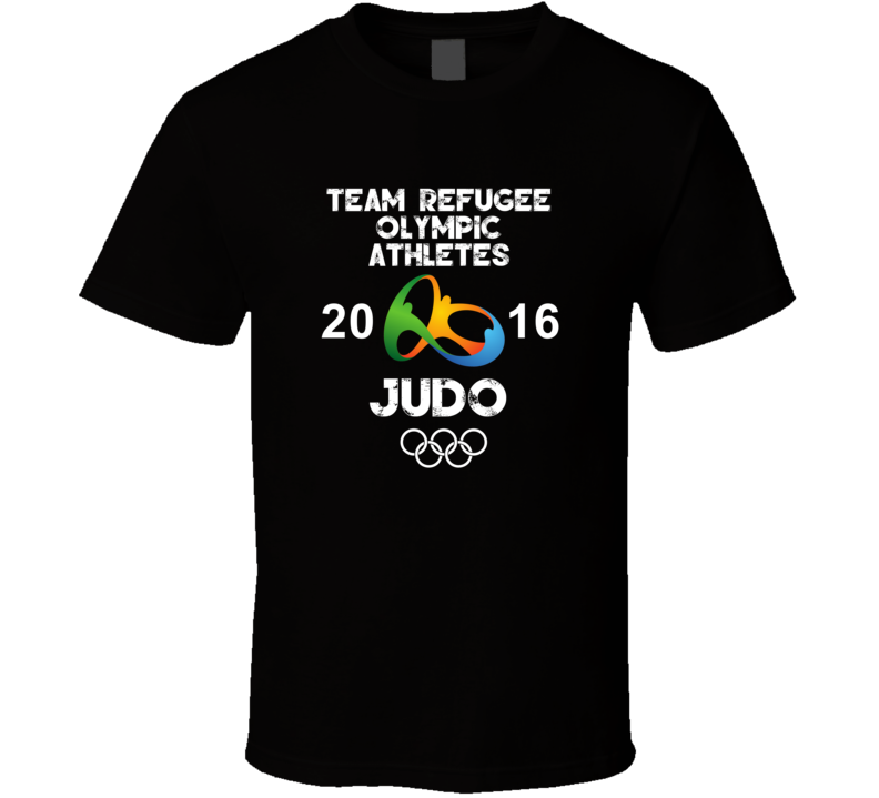 Refugee Olympic Athletes Judo Team Rio 2016 Olympic Games Sport T Shirt