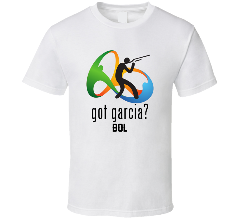 Got Carina Garcia Shooting Team Bolivia Olympics T Shirt