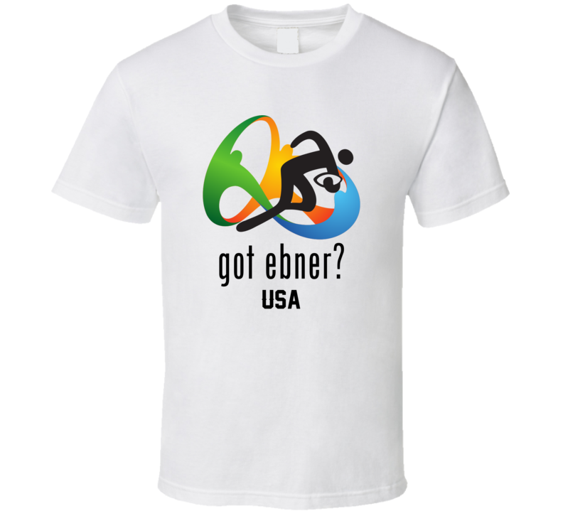 Got Nate Ebner Rugby Sevens USA Olympic Team T Shirt