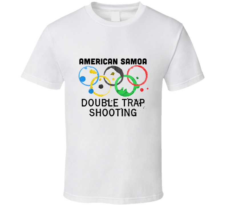 American Samoa Double Trap Shooting Rio 2016 Summer Olympics T Shirt