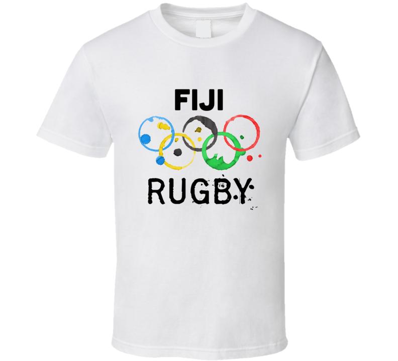 Fiji Rugby Rio 2016 Summer Olympics T Shirt