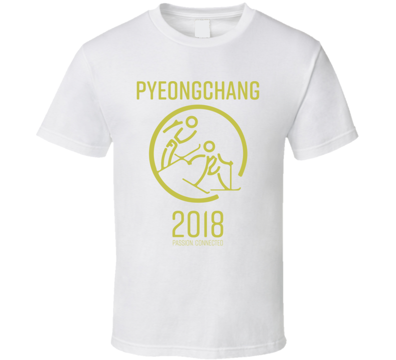 Pyeongchang 2018 Nordic Combined Passion. Connected T Shirt