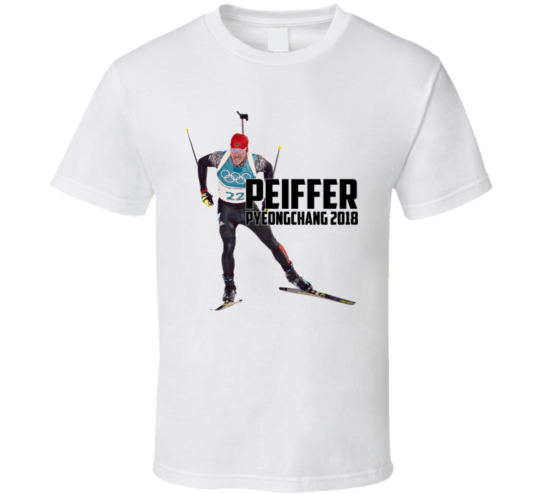 Arnd Peiffer Germany Biathlon 2018 Olympic Athelete Fan T Shirt