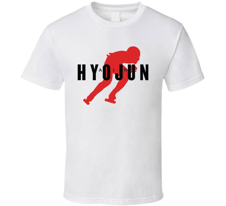 Lim Hyo-jun Republic Of Korea Short Track Speed Skating Olympic Air Athelete Fan T Shirt