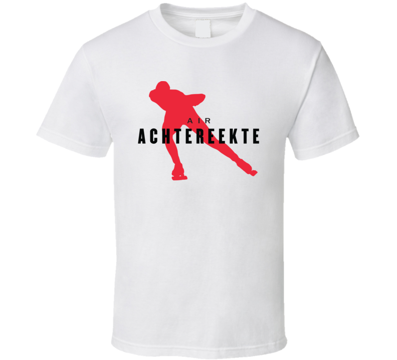 Carlijn Achtereekte Netherlands Speed Skating Olympic Air Athelete Fan T Shirt