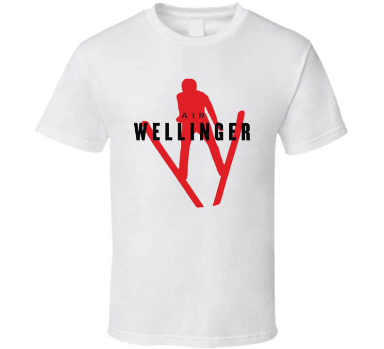 Andreas Wellinger Germany Ski Jumping 2018 Air Olympic Athelete Fan T Shirt