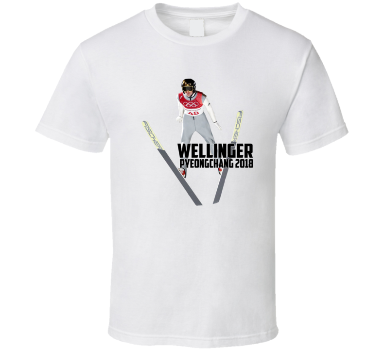 Andreas Wellinger Germany Ski Jumping 2018 Olympic Athelete Fan T Shirt