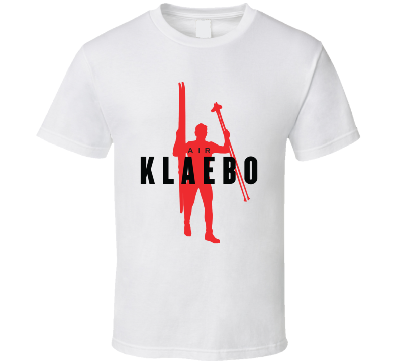 Johannes Høsflot Klæbo Norway Cross Country Skiing 2018 Air Olympic Athelete Fan T Shirt
