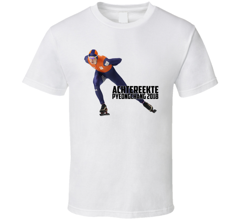 Carlijn Achtereekte Netherlands Speed Skating Olympic Athelete Fan T Shirt