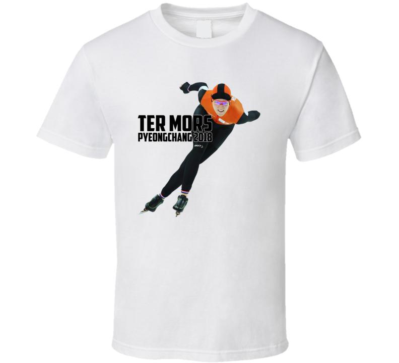 Jorien Ter Mors Netherlands Speed Skating 2018 Olympic Athelete Fan T Shirt