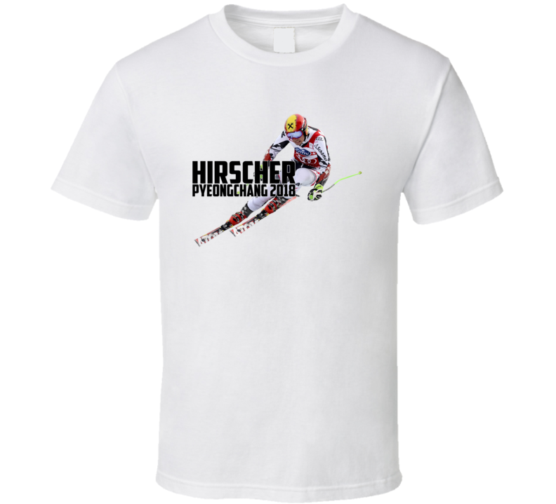 Marcel Hirscher Austria Alpine Skiing 2018 Olympic Athelete Fan T Shirt